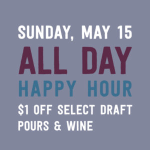 SBW: All Day Happy Hour