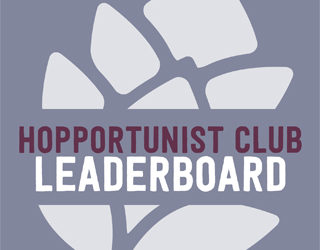 Hopportunist Club Standings: December 2016 – January 2017