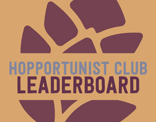 Hopportunist Club Standings: March 2018