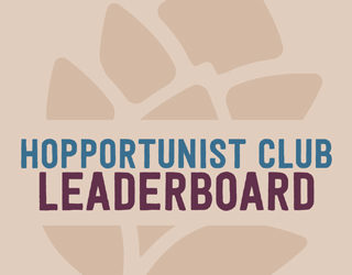 Hopportunist Club Standings: September 2016