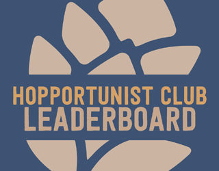 Hopportunist Club Standings: July 2017