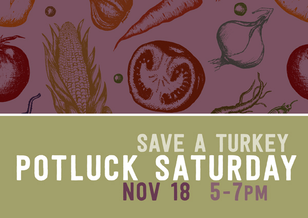 Potluck: Save a Turkey (But Bacon is OK)