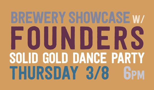 Founders Brewing Solid Gold Release Party